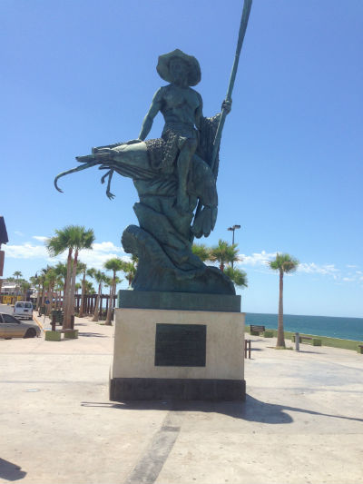 rocky point statue